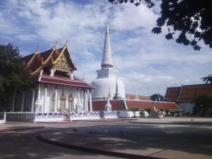 พระมหาธาตุเจดีย์ เมืองคอน ถ่ายเมื่อ กรกฏาคม 2553