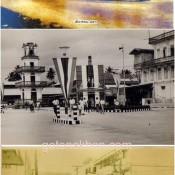 """ภาพแปะฟ้าเมืองคอน""""บริเวณสถานีรถไฟ-หลังสถานีรถไฟ"""""""