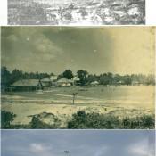"""ภาพแปะฟ้าเมืองคอน """"บริเวณสนามหน้าเมือง เมืองคอน"""""""