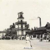 ภาพแปะฟ้าเมืองคอน ตอนช่วงวัดศรีทวี-ตลาดคลองทา-อาชีวะ-ท่าวัง